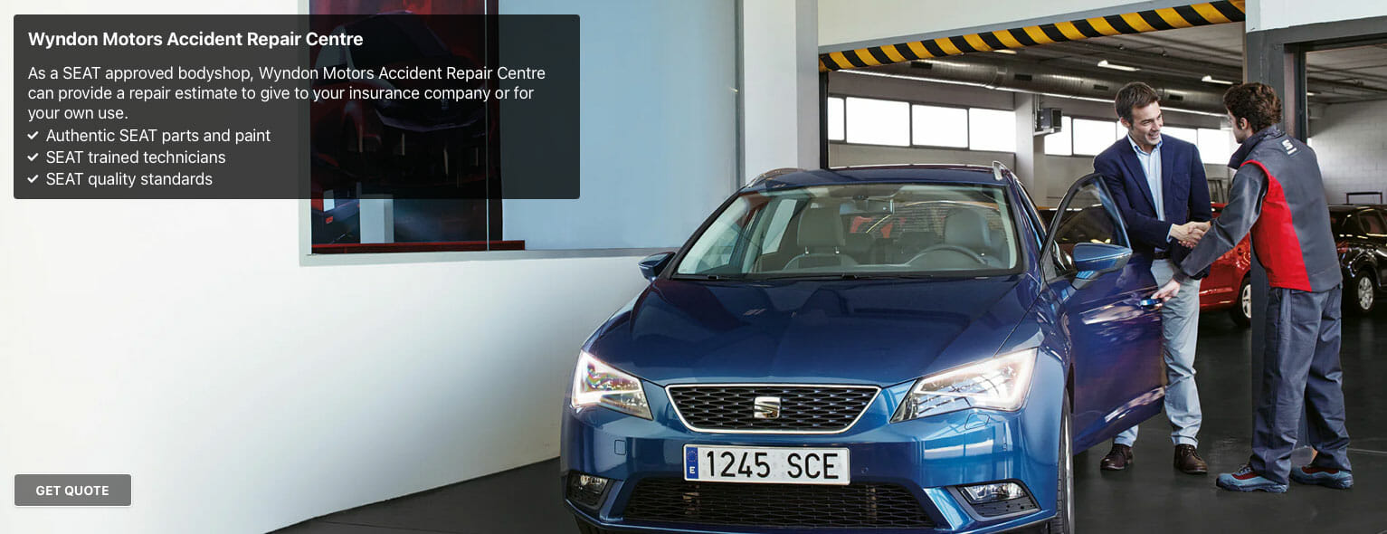 seat approved accident repair centre