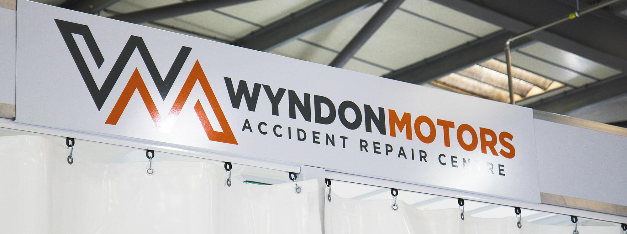 wyndon spray booth signage