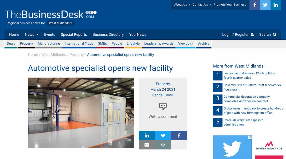 News the businessdesk.com